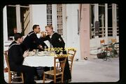 Navy Men W/ Beer In Corinth, Greece In The Early 1950's, Kodachrome Slide F19a