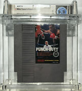 1st Print Nes Mike Tyson Punch-out White Bullets Nintendo Entertainment System