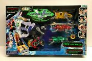1998 Trendmasters Voltron Third Dimension Mighty Lion Force Set Factory Sealed