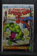Amazing Spider-man 119 Marvel Comics 1973 Conway And Romita Hulk Appearance 8.5