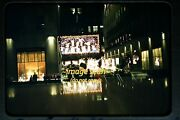 1950and039s Christmas Decorations In Manhattan New York City Nyc Original Slide B5a