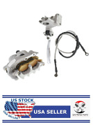 Labwork Front Brake Caliper Master Cylinder Replacement For Honda Crf - A2