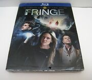 Brand New Sealed 2013 Fringe The Fifth And Final Season 5 Blu-ray 3-disc Set