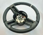 Ford Mustang 2011 2012 2013 2014 Steering Wheel Shelby Gt500 Nappa / White
