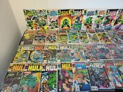 Marvel Comic Books The Incredible Hulk Comic Book Lot Copper Age To Modern Age