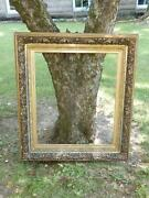 Antique Large Victorian Gilt Picture Frame Museum Quality 37x42