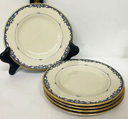 Lot Of 5 X Lenox Liberty Porcelain 6 3/8 Dia Bread And Butter Plates Good Cond