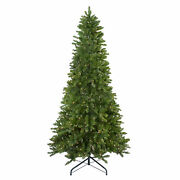 Northlight 14and039 Eastern Pine Slim Artificial Christmas Tree Clear Lights