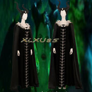 Maleficent Mistress Of Evil Cosplay Costume Carnival Halloween Outfit Customize