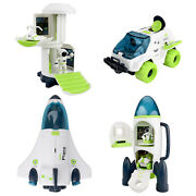 Space Toy Vehicles Play Figure Playsets Spaceship Toys Diy Assembled Gifts