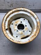 1982 Power King 1212 Tractor Rear Wheels Had 22.5x 10.5-12 Tires On Them 12x8.5