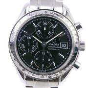 Omega Speedmaster 3513.50 Stainless Chronograph Black Dial Menand039s Watch [u0820]