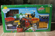 Lehman's Toy Train North Pole Express Starter Set 94775 For Outside Use G Scale