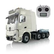 Lesu Rc Metal Chassis Truck Benz 1/14 Scale Hercules Cabin Radio Air Conditioner