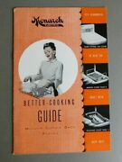 Monarch Electric Better-cooking Guide Surface Oven Roaster - Vintage Manual