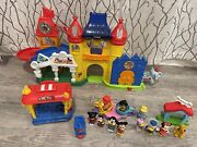 Fisher Price Little People Day At Disney Magic Kingdom Castle Trolley Tea Cups