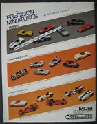 Precision Miniatures/mcm 143 Scale 2/sided Product Sheet 8 X 10