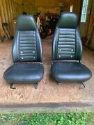 Datsun 280z 1975 To 1978 Seats Expertly Recovered In Black Leather
