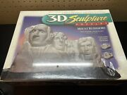 New Sealed 3d Sculpture Puzzles Mount Rushmore Challenging Layer Puzzle 1998