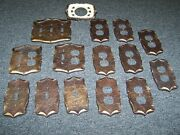Amerock Carriage House Lot Of 15 Electric Switch, Outlet Plates