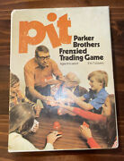 Vintage Parker Brothers Pit Card Game Frenzied Trading Complete Unopened Cards