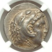 Thrace Odessus 280-200 Bc Ar Tetradrachm 16.71gm Ngc Choice Xf 3/5 4/5 Die Shift