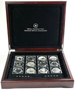2014 Fabulous 15 World Most Famous Silver Coins By Royal Canadian Mint 14833