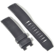 Authentic Omega Seamaster 300m Black Rubber Deployment 20mm Watch Strap