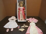 American Girl Elizabeth Doll Stock Xdp With Accessories And Gowns-v.g. Cond.