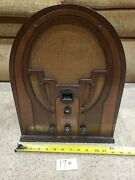 Philco Model 38 Table Top Tube Radio Stereo Parts Vintage Antique 17 S1