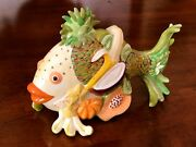 Westland Giftware Fish Decor Outta Water Collectible Fruit Fish