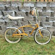 Rare Vintage 1967 Schwinn Sting-ray Deluxe 20 Bicycle Coppertone Usa