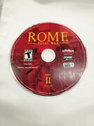 Rome Total War Pc 2004 Ancient Strategy Game Sega Disc 2 Disc Ii Only
