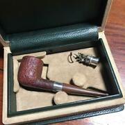 Dunhill Wooden Tobacco Pipe Cumberland Made In England With Box And Damper Used