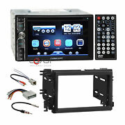 Concept Dvd Usb Bluetooth Stereo Dash Kit Amp Harness For Ford Lincoln Mercury