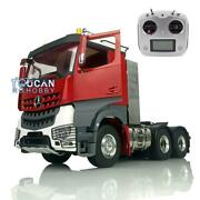 Lesu Rc Metal 1/14 Chassis 66 Radio Painted Hercules Cabin Tractor Truck Sound