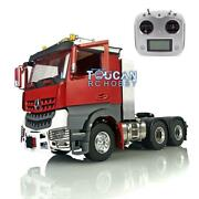1/14 Metal 66 Lesu Tractor Truck Toolbox Rc Chassis Radio Hercules Painted Cab