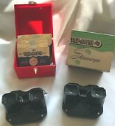 Vintage Sawyer View Master Stereoscope Lot 2 Viewers 37 Reels 1box 1 Brochure