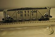 Lionel 6-19340 Cotton Belt 4-bay Hopper With Coal Load Weathered Rd64464 Nice