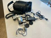Sony Dsc-f717 Used Once See Listing Of Many Extras See Many Pictures