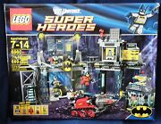 Lego 6860  Dc Universe Super Heroes The Bat Cave New In Box