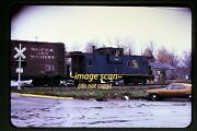 1973 Cando Chesapeake And Ohio Caboose 3166 At Holly Michigan Nandw, Org Slide C23a