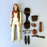 Vintage Marx Johnny West Action Figure Geronimo And Accessories W1