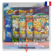 Dragon Ball Super Card Game - Pack Collector 4 Boosters Expansion Booster 01