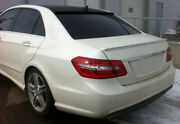 Abs Euro Rear Trunk Spoiler Lip Wing Sport Lid For Mercedes Benz W212 2015- Amg