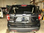 Trunk/hatch/tailgate Base With Police Package Fits 16-17 Explorer Black