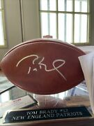 Super Bowl 51 Tom Brady Auto Football Best Comeback Double Authandrsquod With Stand