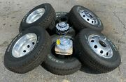 2019-2021 Dodge Ram 3500 Dually Aluminum 17 Takeoff Tires And Wheels 8x200