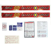 Rap66883 Select-o-speed Complete Decal Set Fits Ford Fits New Holland 901 1958-