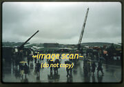 1950s Usaf Helicotper And Aircraft In Europe, Original Slide A2b